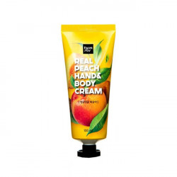 Крем рук и тела с экстрактом персика Farm Stay Real Peach Hand & Body Cream