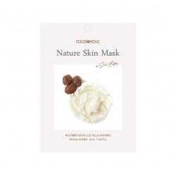 Тканевая маска с маслом ши FoodaHolic Shea Butter Natural Skin Mask