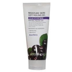 Пилинг - скатка с экстрактом ягод асаи FoodaHolic Moisture Skin Soft Peeling Gel Acai Berry