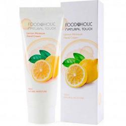 Увлажняющий крем для рук с экстрактом лимона FoodaHolic Lemon Moisture Hand Cream