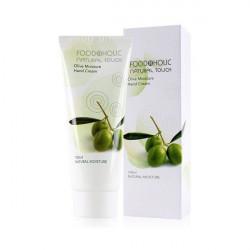 Увлажняющий крем для рук с экстрактом оливы FoodaHolic Olive Moisture Hand Cream