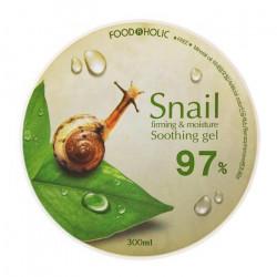 Многофункциональный гель с фильтратом улиточной слизи FoodaHolic Snail Firming & Moisture Soothing Gel 97%