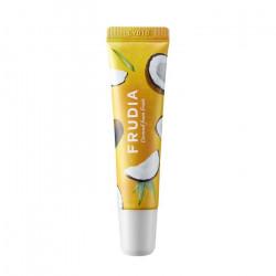 Смягчающий крем для губ с мёдом и кокосовым соком Frudia Coconut Honey Salve Lip Cream