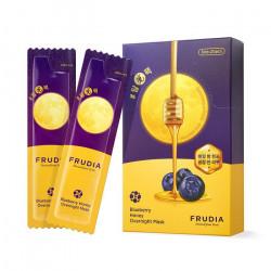 Питательная ночная маска с медом и экстрактом черники Frudia Blueberry Honey Overnight Mask