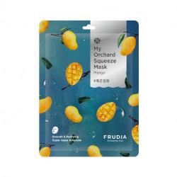 Смягчающая тканевая маска для лица с экстрактом с манго Frudia My Orchard Squeeze Mask Mango