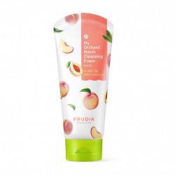 Успокаивающая пенка с экстрактом персика Frudia My Orchard Peach Mochi Cleansing Foam
