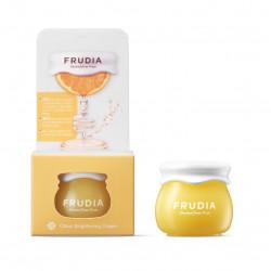 Крем для сияния кожи лица с 61% экстрактом цедры мандарина Frudia Citrus Brightening Cream
