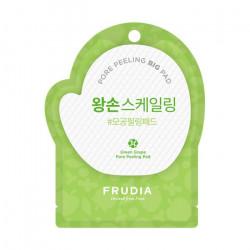 Пилинг-пэд для очищения пор с зелёным виноградом Frudia Green Grape Pore Peeling Big Pad