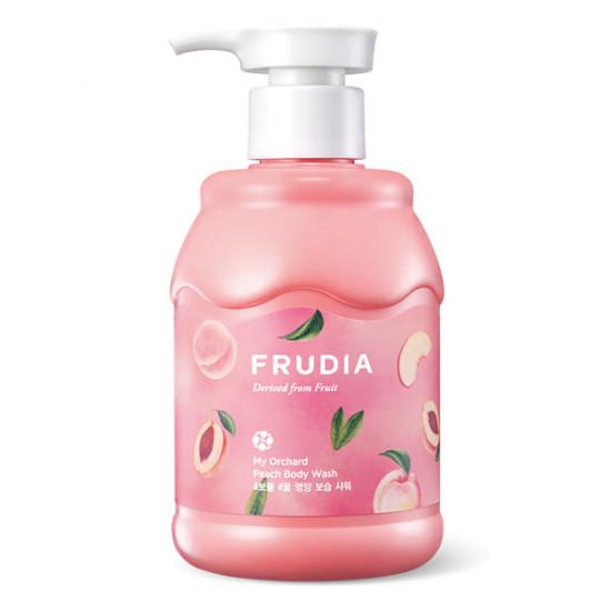 Кремовый гель для душа с ароматом спелого персика Frudia My Orchard Peach Body Wash