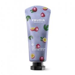 Скрабирующий гель для душа с ароматом маракуйи Frudia My Orchard Passion Fruit Scrub Body Wash