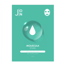 Тканевая маска для лица с муцином слизи улитки J:ON Snail Mask Sheet