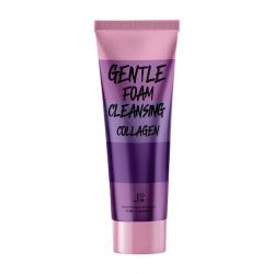 Кремовая пенка для очищения кожи лица с коллагеном и экстрактом шёлка J:ON Gentle Foam Cleansing Collagen