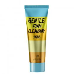 Кремовая пенка для очищения кожи лица с муцином улитки и экстрактом алоэ J:ON Gentle Foam Cleansing Snail