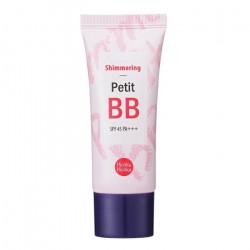 ББ крем с жемчужной пудрой для придания сатинового сияния Holika Holika Petit BB Shimmering SPF 45
