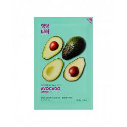 Смягчающая тканевая маска для лица с экстрактом авокадо Holika Holika Avocado Pure Essence Mask Sheet