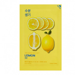 Тонизирующая тканевая маска для лица с лимоном Holika Holika Pure Essence Mask Sheet Lemon