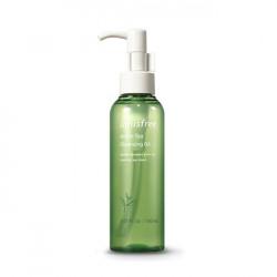 Гидрофильное масло с зеленым чаем для жирной кожи Innisfree Green Tea Cleansing Oil