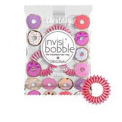 Ароматизированные резинки-браслеты для волос Invisibobble The Traceless Hair Ring Original Cheatday Limited Collection