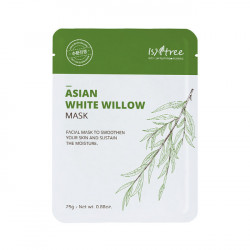 Восстанавливающая тканевая маска с экстрактом азиатской белой ивы IsNtree Asian White Willow Mask