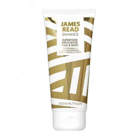 Крем-скраб для лица и тела James Read Enhance Superfood Exfoliator Face & Body