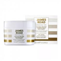 Кокосовый бальзам с эффектом загара James Read Gradual Tan Coconut Melting Tanning Balm Face & Body