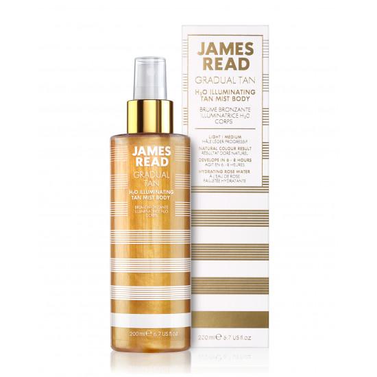 Спрей для тела - роскошное сияние  James Read Gradual Tan H2O Illuminating Body Mist