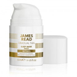 Ночная маска для лица уход и загар с ретинолом James Read Gradual Tan Sleep Mask Face With Retinol