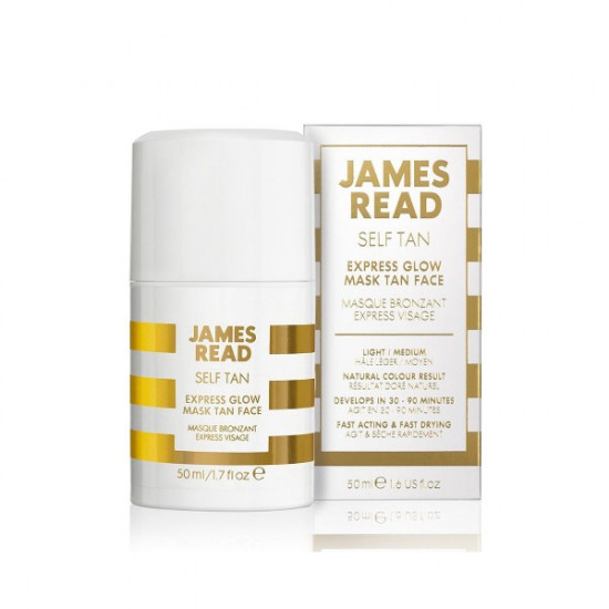 Экспресс-маска для лица автозагар James Read Self Tan Express Glow Mask Tan Face