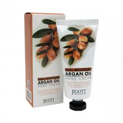Увлажняющий крем для рук с аргановогым маслом Jigott Real Moisture Argan Oil Hand Cream