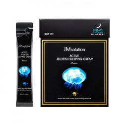 Ночной увлажняющий крем с экстрактом медузы JMsolution Active Jellyfish Sleeping Cream Prime