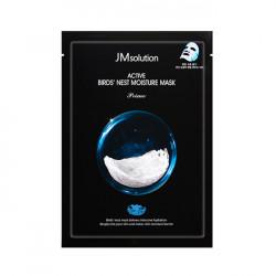 Увлажняющая тканевая маска с экстрактом ласточкиного гнезда JMsolution Active Bird's Nest Moisture Mask