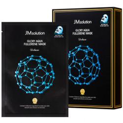 Антиоксидантная маска с фуллереном и пептидами JMsolution Aqua Fullerene Mask