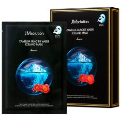 Тонизирующая тканевая маска с экстрактом камелии JMsolution Camellia Glacier Water Iceland Mask Snow