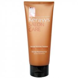 Питательная маска для повреждённых волос вследствие горячих укладок, окрашивания и расчёсывания Kerasys Salon Care Moringa Texturizer Treatment
