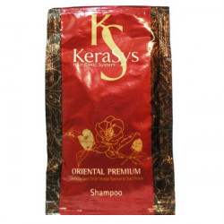 Восстанавливающий шампунь для повреждённых волос Kerasys Oriental Premium Shampoo 10 мл