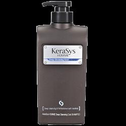 Мужской освежающий шампунь Kerasys Homme Deep Cleansing Cool Shampoo