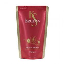 Восстанавливающий шампунь для повреждённых волос (сменный блок) Kerasys Oriental Premium Shampoo 500 мл