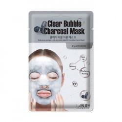 Очищающая кислородная маска с древесным углем Labute Clear Bubble Charcoal Mask
