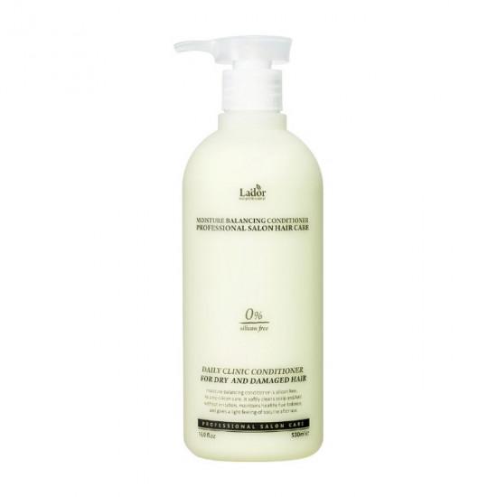 Увлажняющий кондиционер для волос с растительными экстрактами Lador Moisture Balancing Conditioner, 530 мл