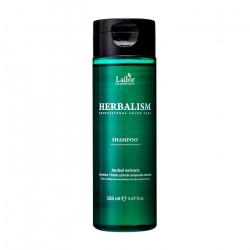 Успокаивающий шампунь с травяными экстрактами против выпадения волос Lador Herbalism Shampoo, 150 мл