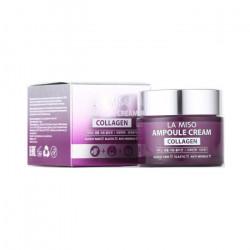 Антивозрастной ампульный крем для лица с коллагеном La miso Ampoule Cream Collagen