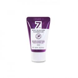 Очищающая пенка с 4 видами коллагена May Island 7 Days Secret 4D Collagen Cleansing Foam