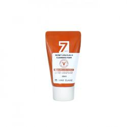 Очищающая пенка для сияния кожи с экстрактом облепихи May Island 7 Days Secret Vita Plus-10 Cleansing Foam