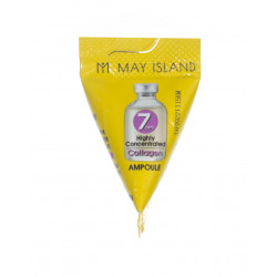 Ампула с коллагеном для упругости кожи May Island 7 Days Highly Concentrated Collagen