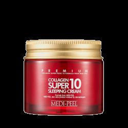 Омолаживающий ночной крем для лица с коллагеном MEDI-PEEL Collagen Super10 Sleeping Cream  — 10 мл