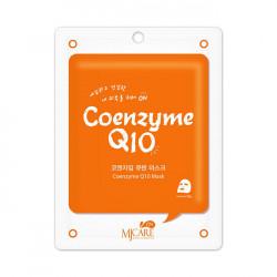Омолаживающая тканевая маска с коэнзимом Q10 Mijin Cosmetics Care Coenzyme Q10 Mask