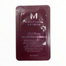 Тональный ВВ-крем для всех типов кожи №.23/Natural Beige Missha M Perfect Cover BB Cream SPF42/PA+++ Mini