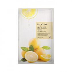Очищающая и осветляющая витаминная тканевая маска для лица Mizon Joyful Time Essence Mask Vitamin