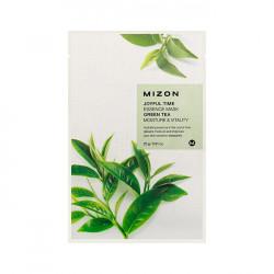 Тонизирующая тканевая маска для лица с экстрактом зелёного чая Mizon Joyful Time Essence Mask Green Tea