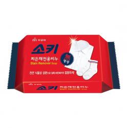 Пятновыводящее мыло для застирывания, стирки и кипячения детского и взрослого белья Mukunghwa Soki